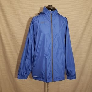 Nike Blue Men's Storm Fit Wind Rain Jacket
